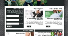 עיצוב אתר – חברת ALRO