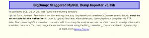 BigDump-No-Sql